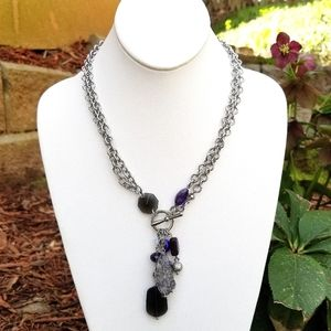 LIA SOPHIA NECKLACE 12 to 22 INCHES